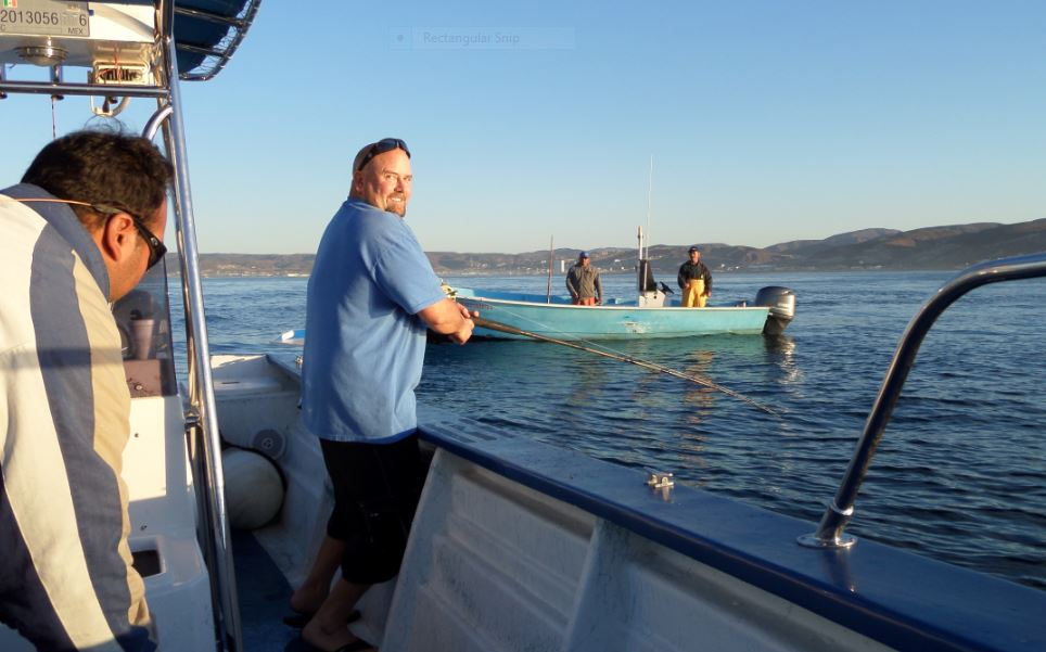 Epic day today fishing off the coast of ensenada for Is today a good day for fishing