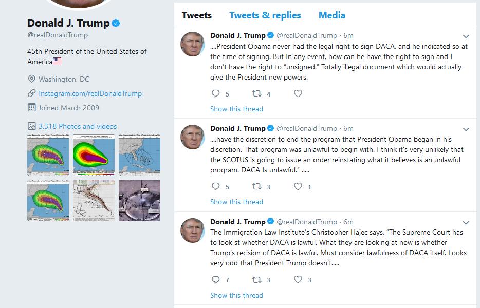 Name:  Screenshot_2019-09-06 Donald J Trump ( realDonaldTrump) Twitter.png Views: 107 Size:  174.0 KB