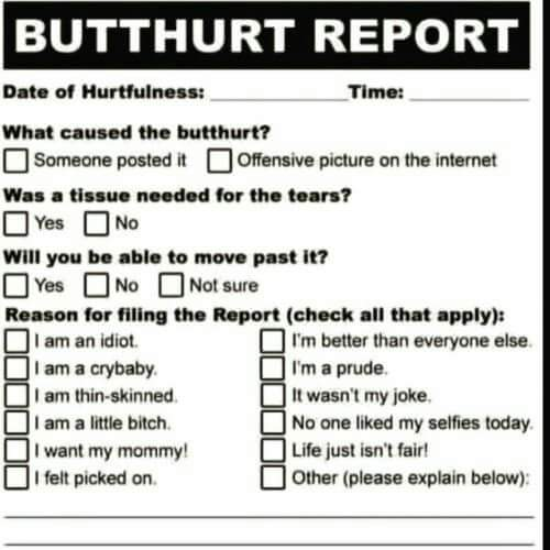 Name:  Butthurt Report.jpg Views: 268 Size:  28.1 KB